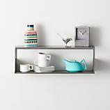 window wall mounted shelf