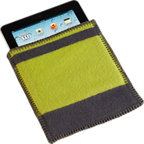 faribault mill wool iPad® cover