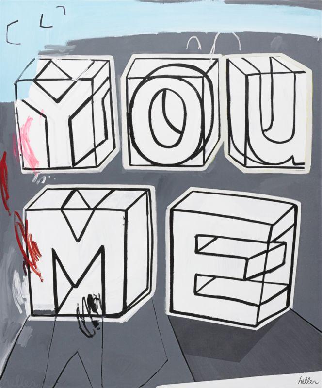 you me print