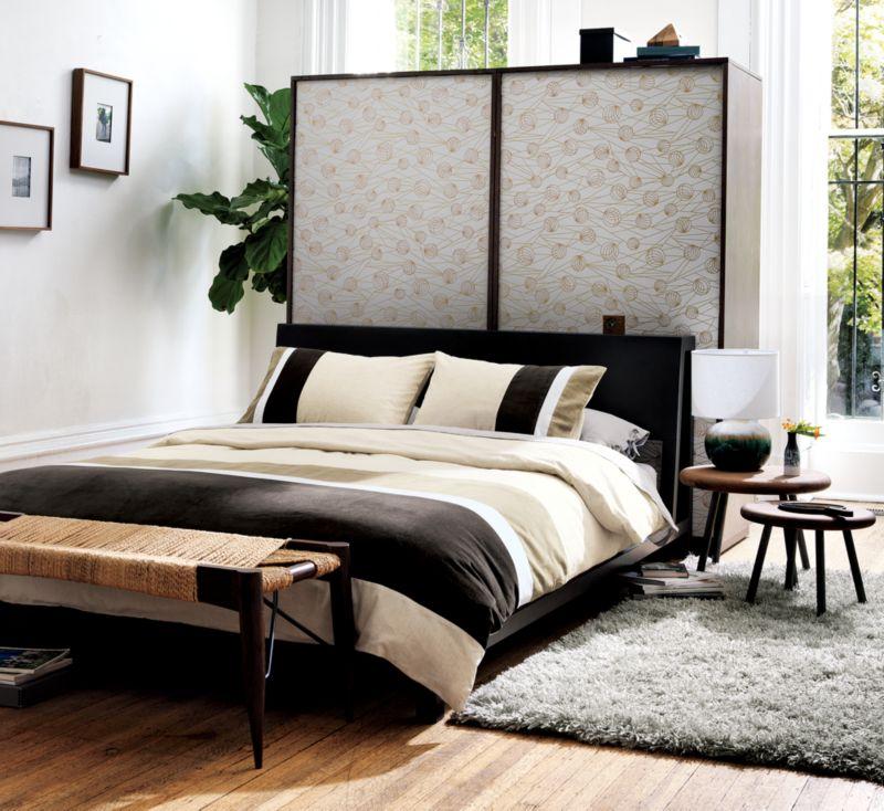 alpine gunmetal bed