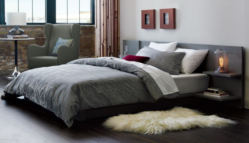 andes concrete queen bed
