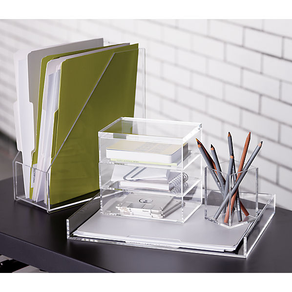 format desk accessories cb2