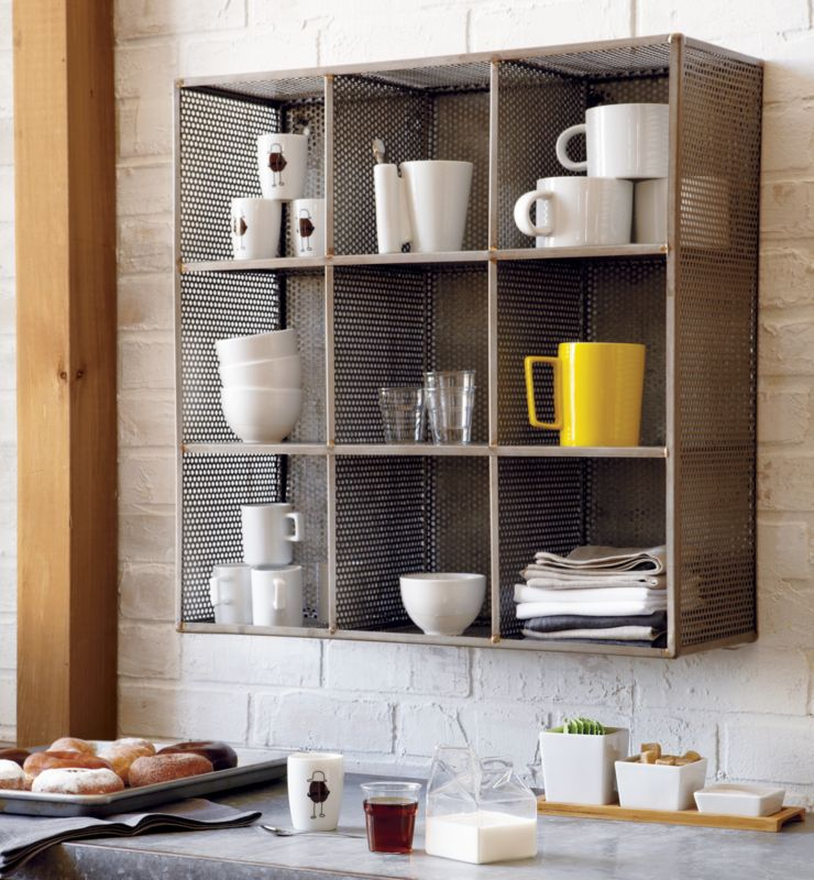 sift raw wall shelf