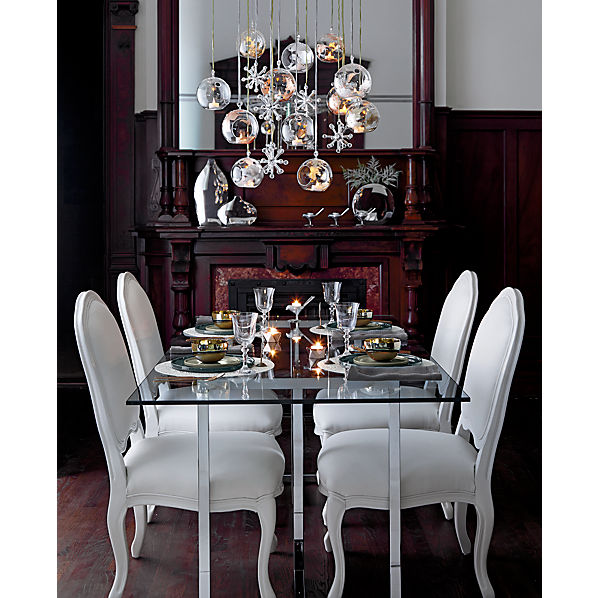 Silverado Rectangular Dining Table Silverado Brass 80 Rectangular