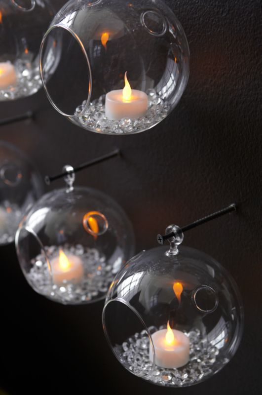 LED tealights set of six