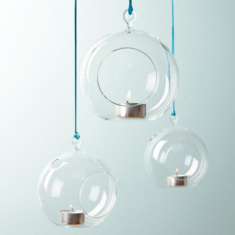 whirly hanging candle holder